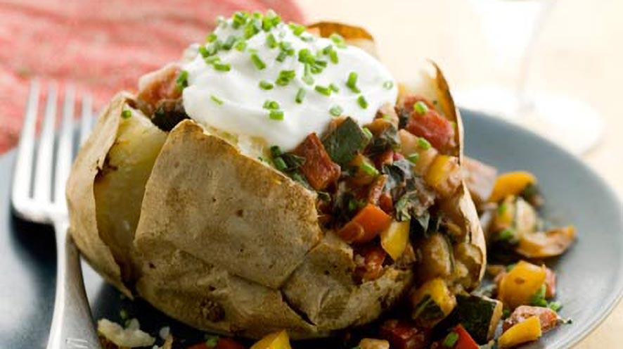 Baked Potato Recipes And Health Benefits!