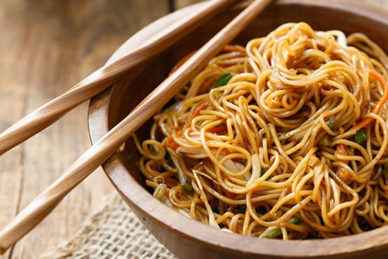 Easy recipes with noodles . Soy Sauce Noodles