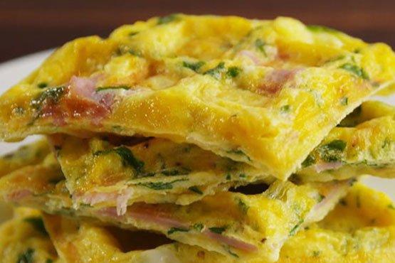 Omelet Waffles