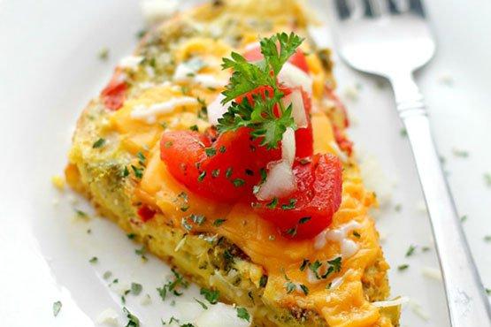Slow-Cooker Veggie Omelet