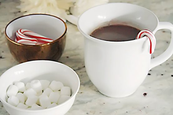 Guiltless Hot Chocolate Using Cacao Powder