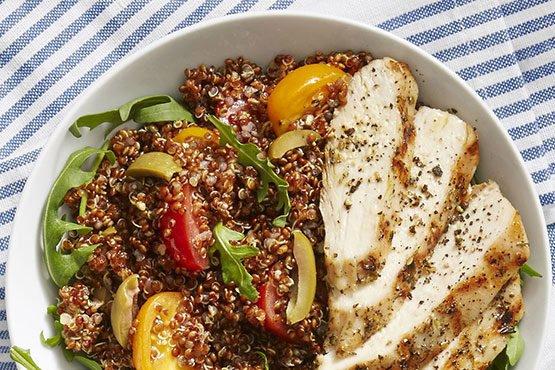 Chicken Quinoa Bowls