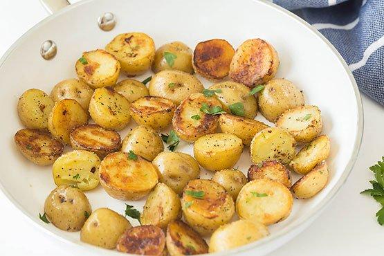 Easy Fried Potatoes