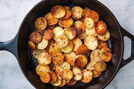 Perfect Pan Fried Potatoes