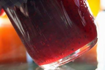Microwave Raspberry and Apricot Jam