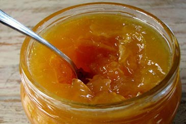 Microwave Grapefruit And Ginger Marmalade