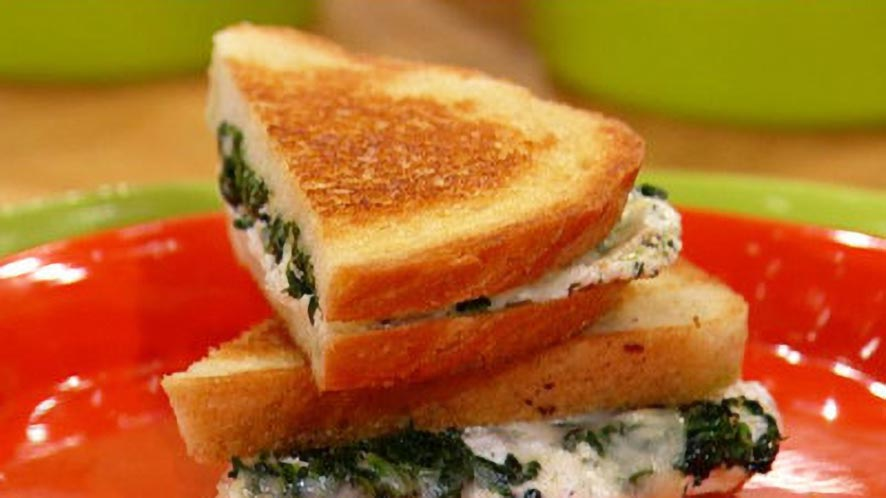 Spinach Sandwich Recipe