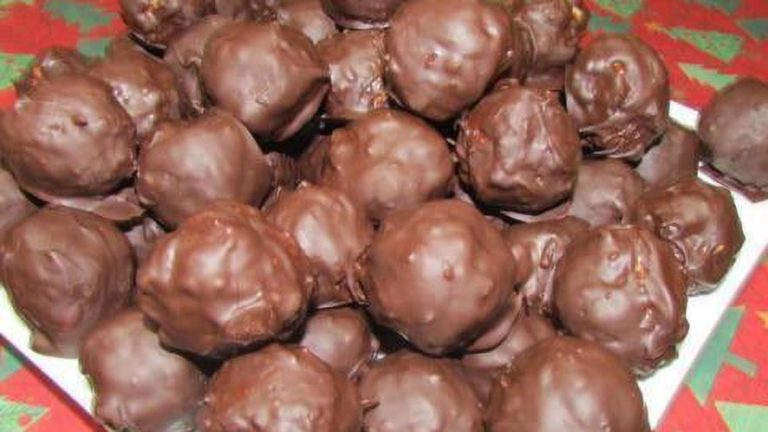Easy Chocolate Rice Krispie Balls Recipe