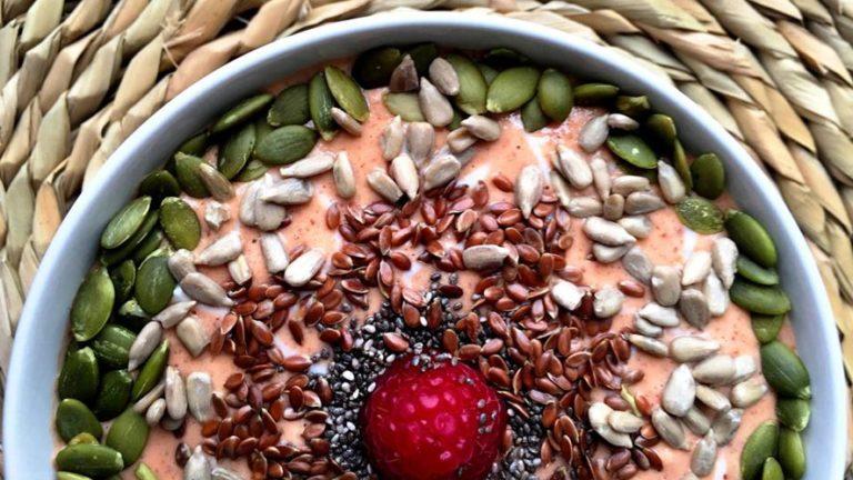 Easy Watermelon Smoothie Bowl Recipe