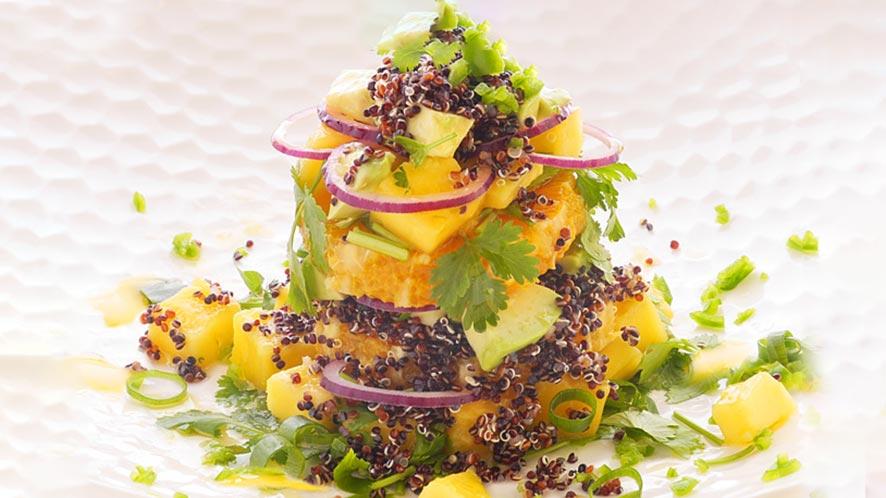 Amazing Thai Inspired Black Quinoa Salad Recipe