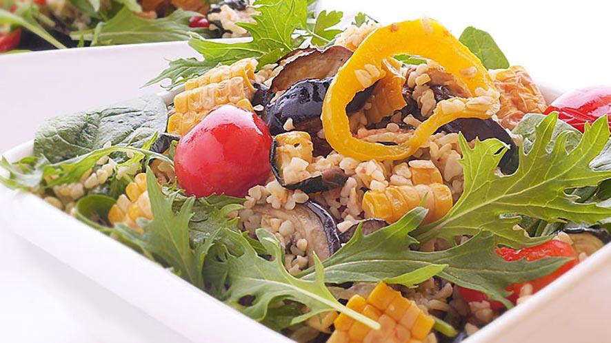 Easy Warm Millet Salad Recipe