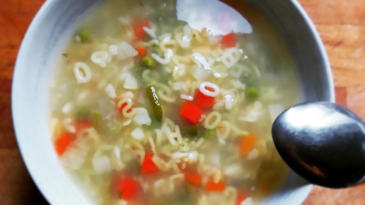 Quickie: Veggie Noodle Soup Recipe