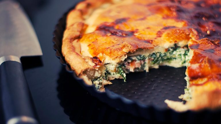 Easy Spinach and Feta Pie Recipe