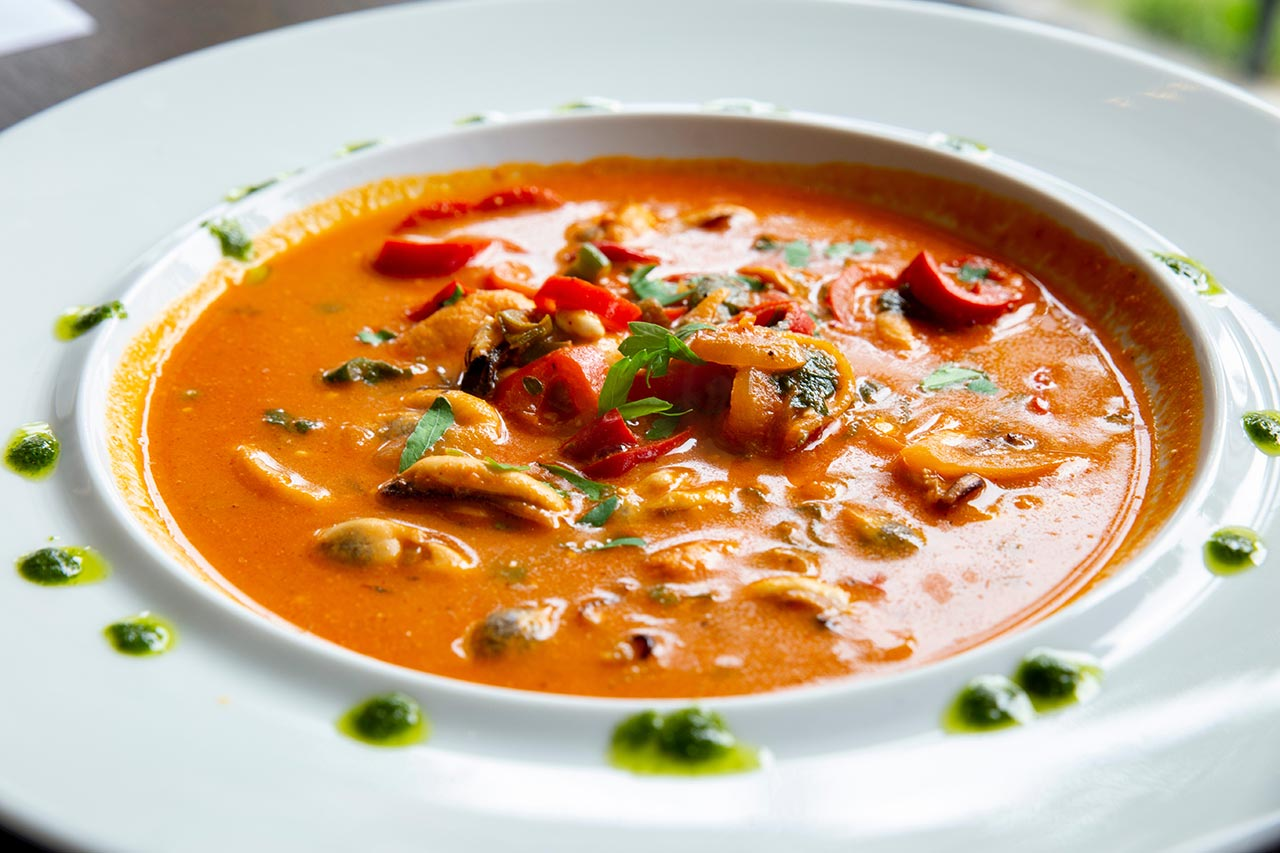 Chicken, Chard, Bean and Butternut Squash Soup Recipe