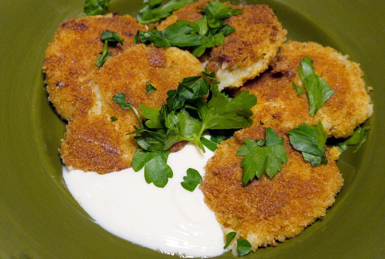 Low Sodium Cauliflower-Potato Bites Recipe