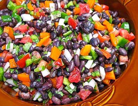 Easy Black Bean Salad Recipe