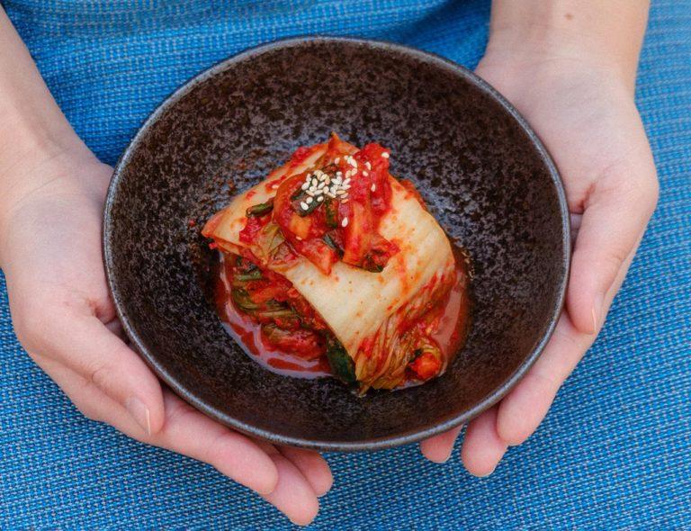 Making Kimchi Traditional Korean Side Dish