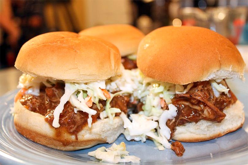 Pork with Ranch BBQ