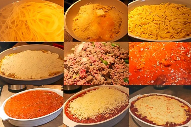 Easy Heart Healthy Spaghetti Pie Recipe