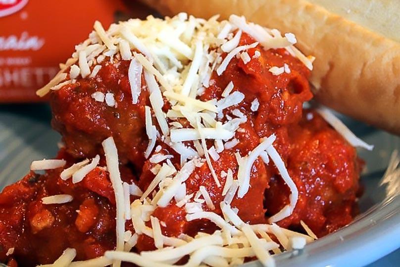 """""""Smart"""" Spaghetti and Meatballs Recipe"""
