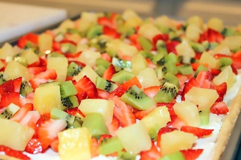 Summer Fruit Pizza – Tasty Dessert