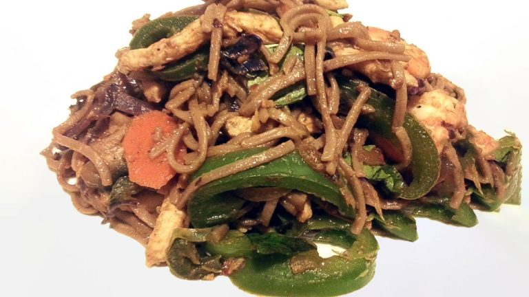 Asian Inspired Soba Noodles Recipe